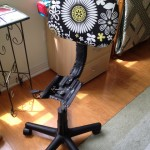 Assembling a Recovered Office chair