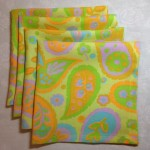 Retro Fabric Napkins