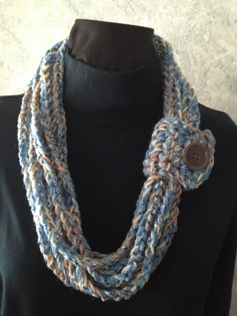 Crochet Rope Scarf - Coast to Coast Crafts
