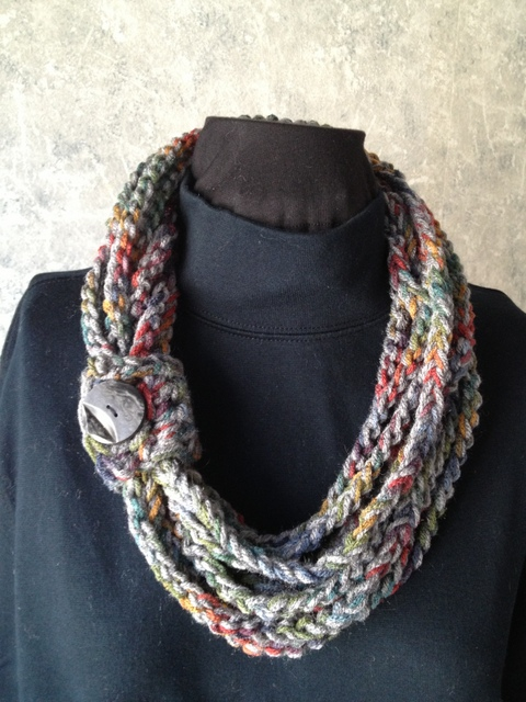 Crochet Rope Scarf Pictures