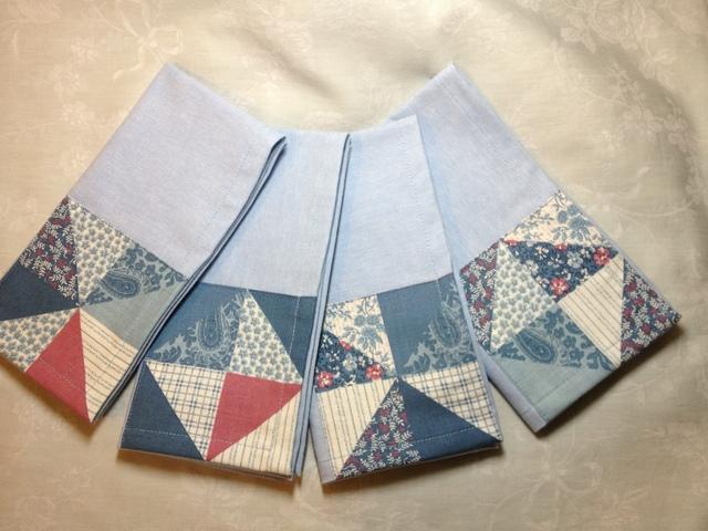 Quilt Look Napkins 2