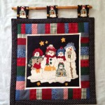 Melted Snowman Wall Hanging