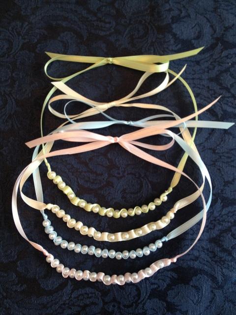 Dainty Ribbon Necklace 2