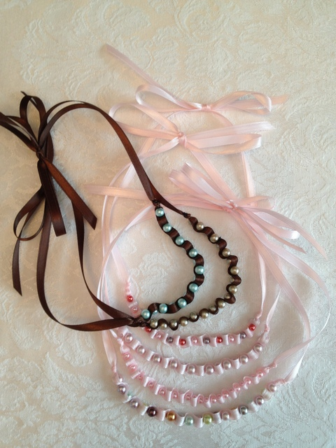 Dainty Ribbon Necklace 4
