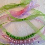 Sheer Ribbon Necklace 3