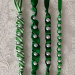 St. Patrick's Day Ribbon Necklace 2