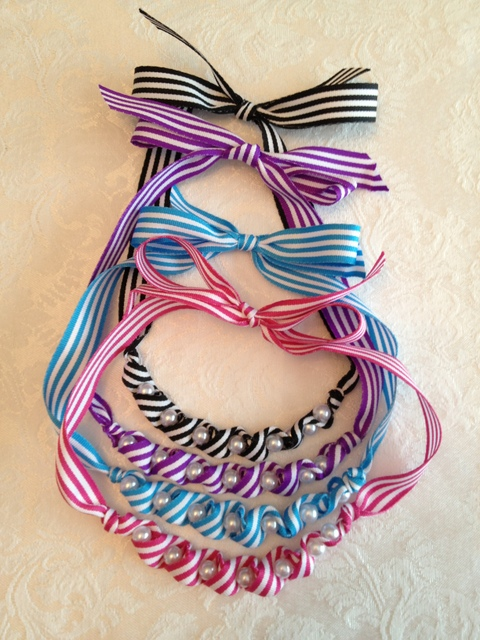 Twisted Ribbon Necklace 3
