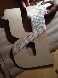 Wrapping letter