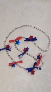 Bead and Star Necklace
