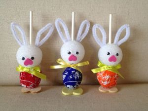 Tootsie Pop Bunnies