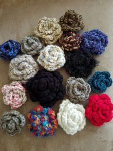 yarn-flowers