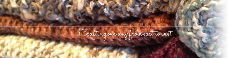 Coast to Coast Crafts - Crafting our way from east to west
