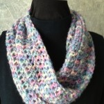 Multi Crochet Single Loop Mobius Scarf