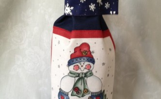 Winter Wine Bag