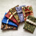 Holiday Fabric Gift Card Holders