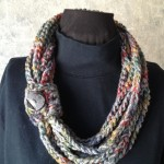 Multi Crochet Rope Scarf