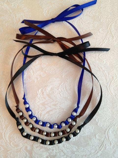 Dainty Ribbon Necklace 3
