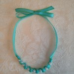 Ribbon and Pearl Necklace 1