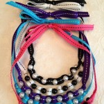 Ribbon and Pearl Necklace 3